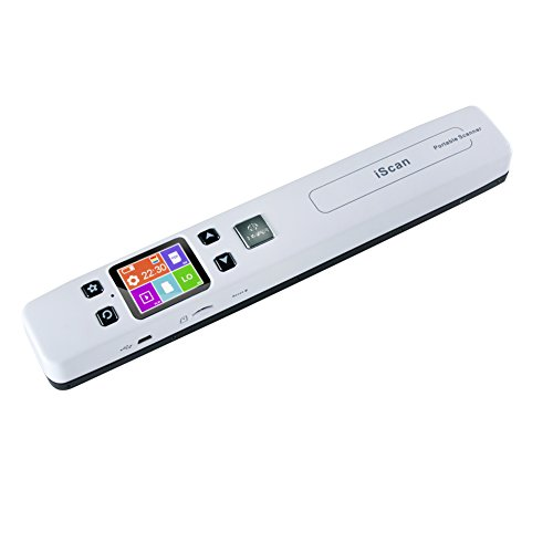 Cheapest Prices! Alician New Hot for 1050DPI LCD Portable Handheld Scanner Book Document Photo Handy...
