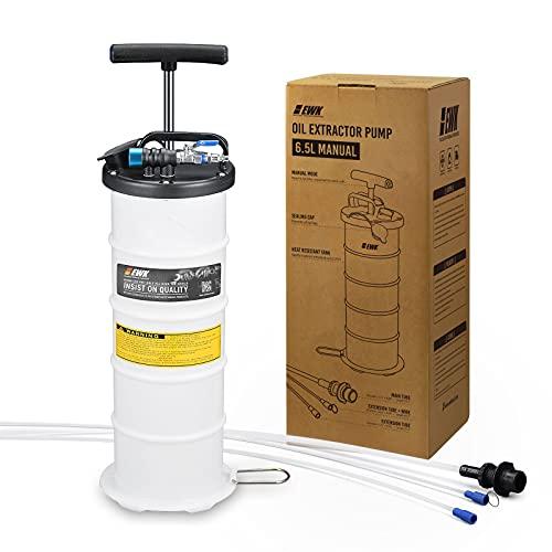 EWK 6.5L Pneumatic/Manual Oil Extractor Pump for Automobile Fluids...