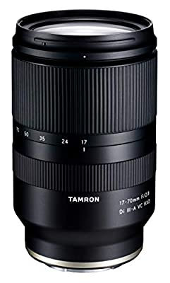 Tamron 17-70mm f/2.8 Di III-A VC RXD Lens for Sony E APS-C Mirrorless Cameras from Tamron