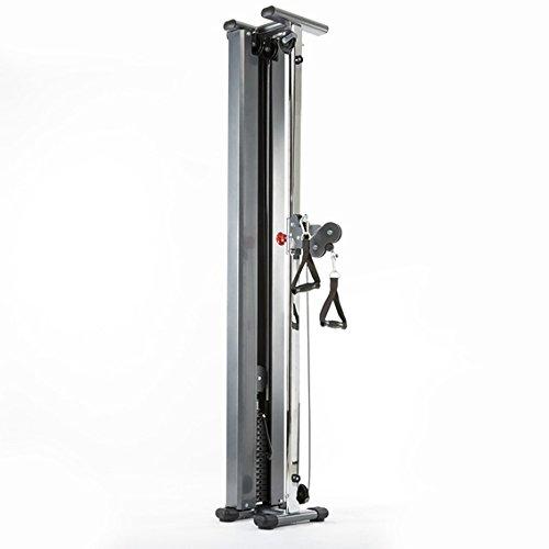 ATX® Professional - Single Cable Station - Kabelzugstation - Kablezugturm - Latzug - Doppel-Zugapparat zur Wandmontage/Für EIN perfektes Fitness-Workout / 46 kg Steckgewichte (20 x 2,3 kg)