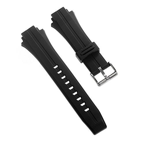 Calypso Uhrenarmband Sport Armband-Material PU schwarz für Calypso K5586 Uhren