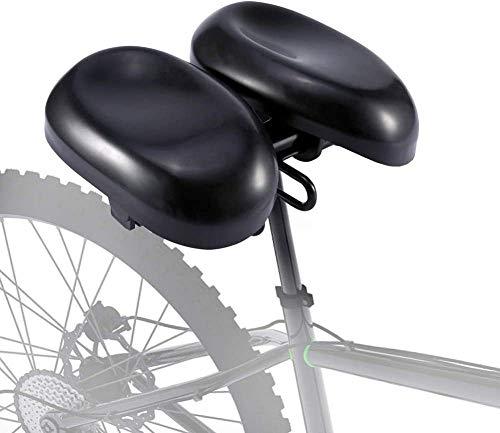 Zakjj Nasenloser Fahrradsitz Bequemer Fahrradsitz Für Männer Frauen Ergonomisches Weiches Doppelpolster-Sattelkissen Mit Verstellbarem Mountainbike Hybrid- Und Stationärem Training