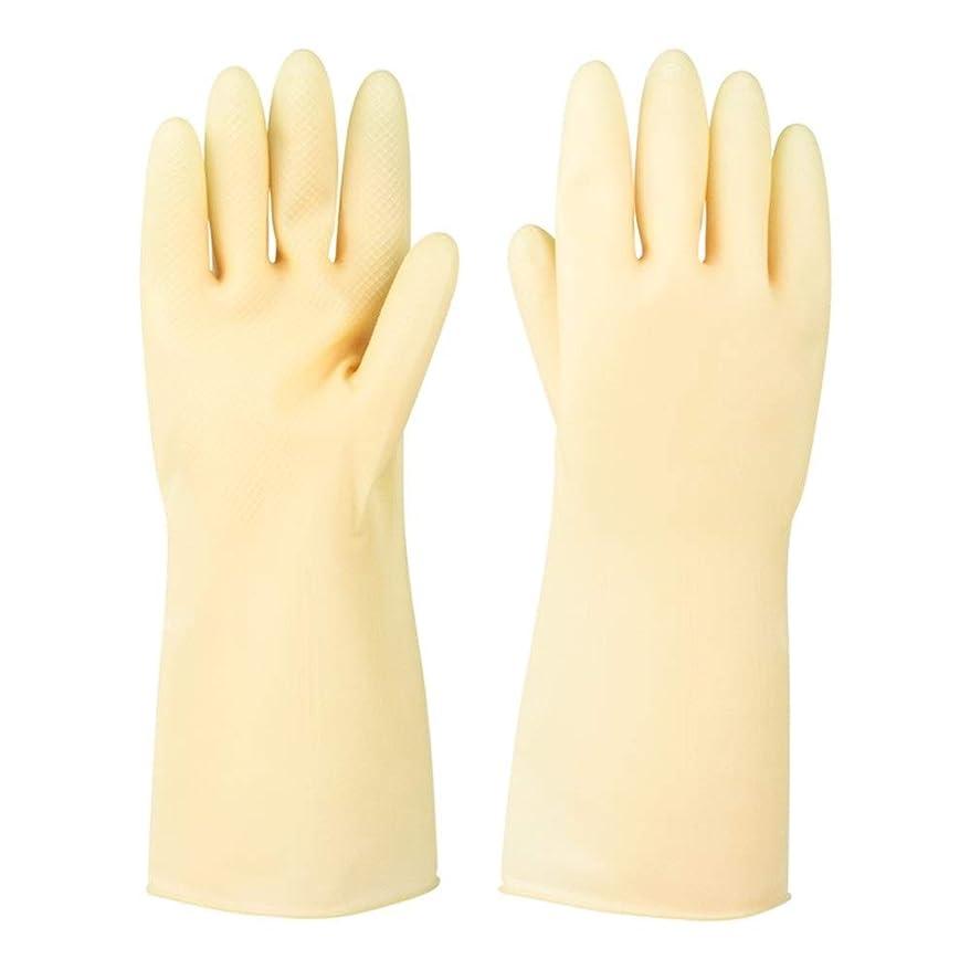 合金慣らす無しニトリルゴム手袋 ラバーレザーグローブ厚めの滑り止め耐摩耗性防水保護手袋、5ペア 使い捨て手袋 (Color : 5 pair, Size : S)