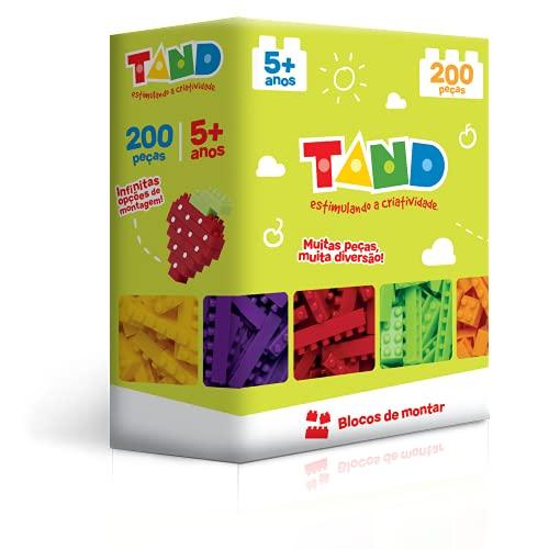 Toyster Tand Blocos de Montar, 200 Peças
