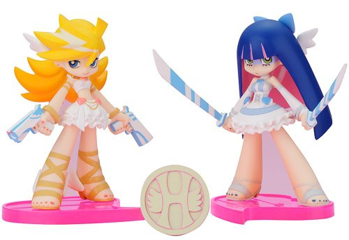 Panty & Stocking with Garterbelt: Twin Pack Panty & Stocking with Heaven Coin Angel Ver. figurine Set