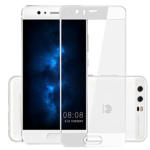 [2 Pack] sinogoods Huawei P10 Protector de Pantalla - [9H Dureza] [Crystal Clear] [Bubble Free] Protector de Pantalla de Vidrio Templado para Huawei P10