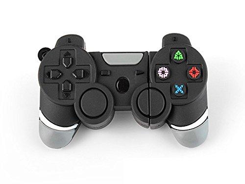 Ulticool Gaming Spiel Konsole Controller USB Flash Pen Drive 8 GB - Gamepad Joypad Memory Stick Daten Aufbewahrung - Speicherstick - Schwarz