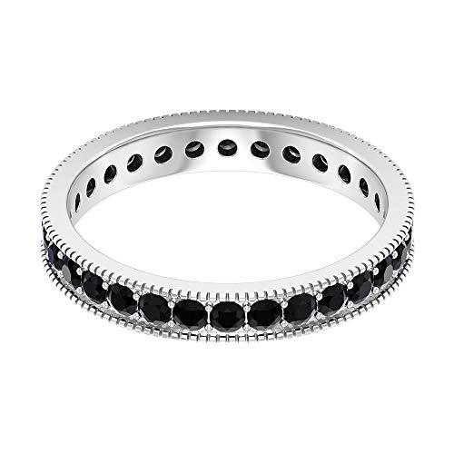 Rosec Jewels - 18 Karat Weißgold black Diamond Round Leicht Getöntes Weiß/Top Crystal (I) Diamant
