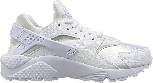 Nike Air Huarache Run, Zapatillas para Mujer, Blanco (Bianco), 36.5 EU
