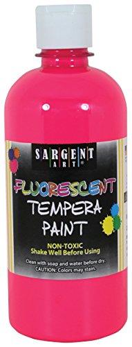 Sargent Art 453,6 Gram Rose Fluo Tempera Peinture