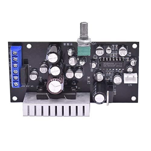 WNJ-TOOL, 1Set TA7240 TA7668 Verstärker Audio Board 5.8W + 5.8W Sound Leistungsverstärker für altmodische Bandlaufwerk mit Volumeneinstellung