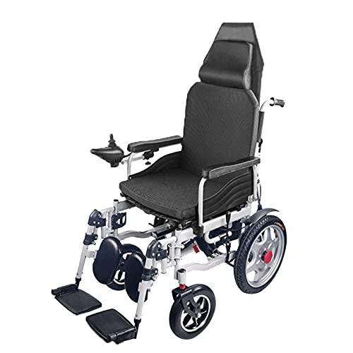 qwertyuio Rollstuhl Faltbar Scooters Para Personas Mayores Con Discapacidades Silla De Ruedas...