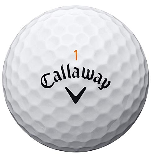 Callaway Golf 2020 SuperHot Golf Balls (White)