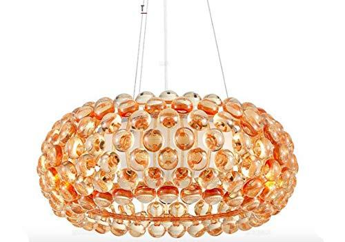 Lampen Pendelleuchte Deckenleuchte Hängelampe Deckenlampe 35 Cm Caboche Pendelleuchte Für Wohnzimmer Esszimmer Acryl Perlen Glas Designer Lampen