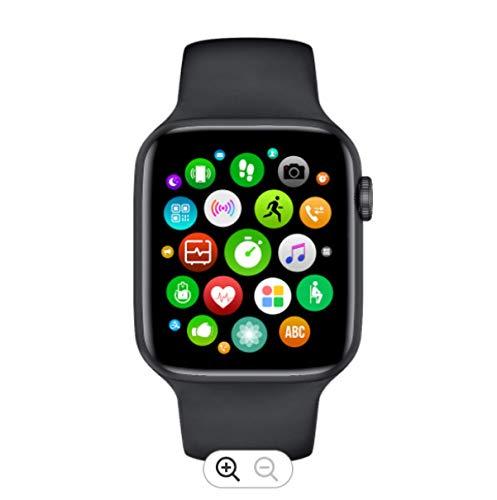 Smartwatch T900 Orologio Fitness Sport Tracker Contapassi Cardiofrequenziometro da Polso Uomo Donna Impermeabile IP68 Smart Watch con Cronometro Calorie Notifiche Messaggi App per Android IOS (nero)