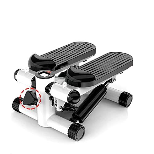 RHSMW Mini Fitness Stepper, Mini Pantalla Inteligente Portátil, Doble Silencio Hidráulico, Entrenamiento Aeróbico, Ejercicio Todo El Cuerpo, Hogar,Negro
