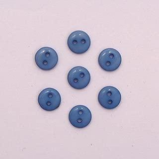- 19 11mm 20 x fisheye boutons-taille 18 bleu marine