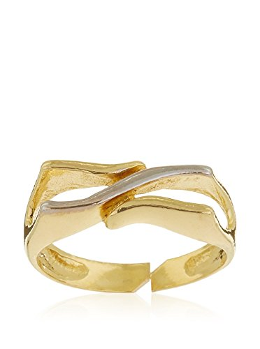 Córdoba Jewels | Anillo en goldfilled Laminado de Oro 14/20. Diseño Sello Bicolor