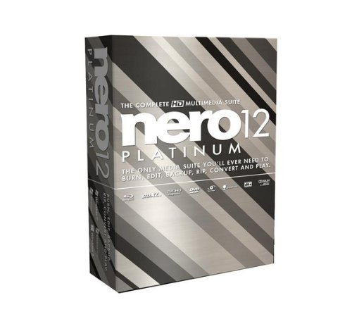 Nero 12 Platinum, Win, Box, ITA - Software de grabación (Win, Box, ITA, 1024 MB, 5000 MB, Windows XP SP3 (32-bit) Windows Vista SP2+ (32/64-bit) Windows 7 SP1 Home Premium (32/64-bit))
