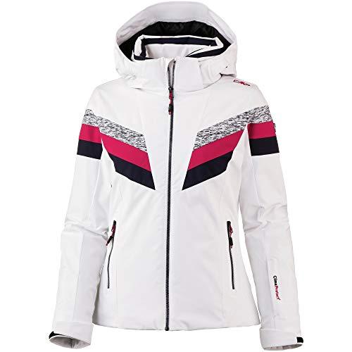CMP Damen Wattierte 20000 Skijacke, Bianco, 38
