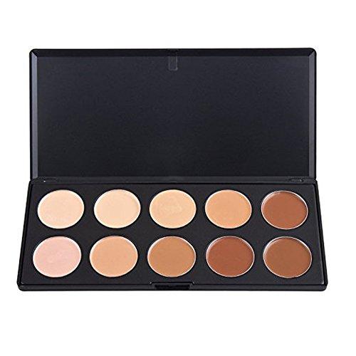 TININNA 10 Couleurs Correcteur Palette Kit Camouflage Maquillage Complet Couverture Crème Correcteurs