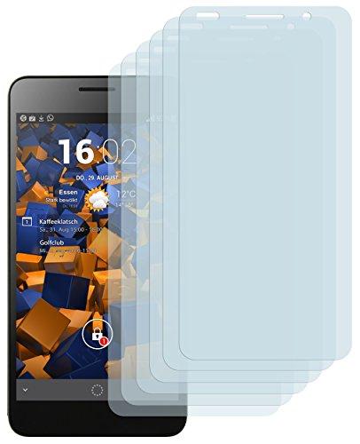 Schutzfolie kompatibel mit Huawei Honor 6 Folie klar, Displayschutzfolie (6X)