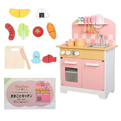 ままごと キッチン 子供 おもちゃ 女の子 木製 ままごとセット おななごと 知育 知育玩具 調理器具 プレゼント ごっこ 遊び 食品衛生法検査済