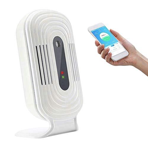 EDTara Detector de Calidad del Aire Detector WiFi PM 2.5 Detector de formaldehído Detector de Gas Teléfono móvil Monitor Inteligente JQ-200