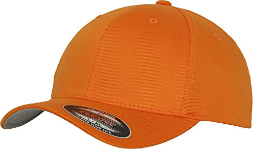 Flexit - Wooly Combed 6277 - Casquette - Mixte adulte - Orange (orange), Jeune (Youth)