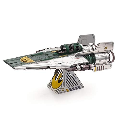 Fascinations Metal Earth Star Wars Rise of Skywalker resistencia A-Wing Fighter 3D Metal Model Kit