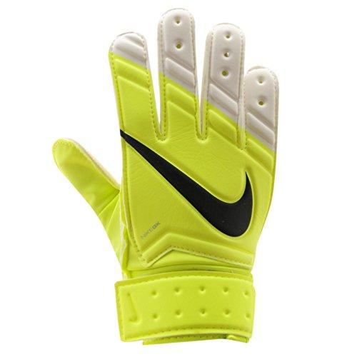 Nike Unisex Goalkeeper (GK) Classic Soccer Gloves-Volt/White-10