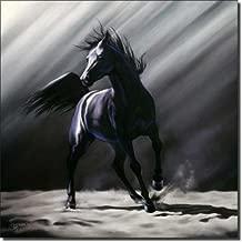 Wild Spirit by Kim McElroy - Equine Horse Art Ceramic Accent Tile 8