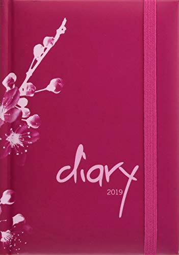 Tages-Kalenderbuch A6, modern pink - Kalender 2019