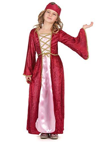 Déguisement reine médiévale fille 10 - 12 ans (L)