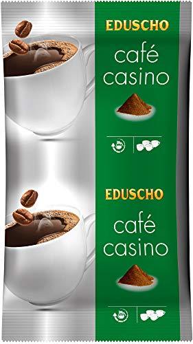 EDUSCHO Café Casino kräftig, 500g Kaffee | Mahlkaffee für kraftvoll-aromatischen Filterkaffee | Ideal für Filterkaffeemaschinen | Arabica-Robusta Komposition