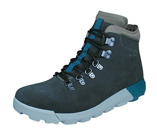 Merrell Wilderness AC+ Mens Suede Walking/Casual Boots-Grey-10