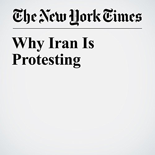 Why Iran Is Protesting copertina