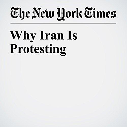 Why Iran Is Protesting copertina