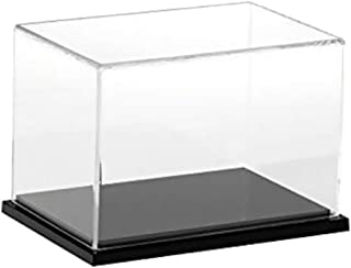 non-brand Clear Acrylic Display Case Dustproof Model Figures Protection Box 40x25x25cm