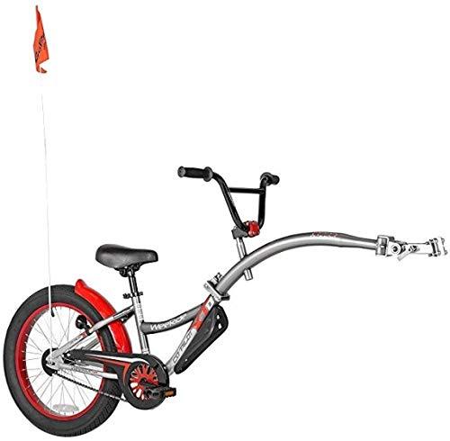 Weeride 56992 Neumático para Bicicleta Remolque, Niños, Gris, M