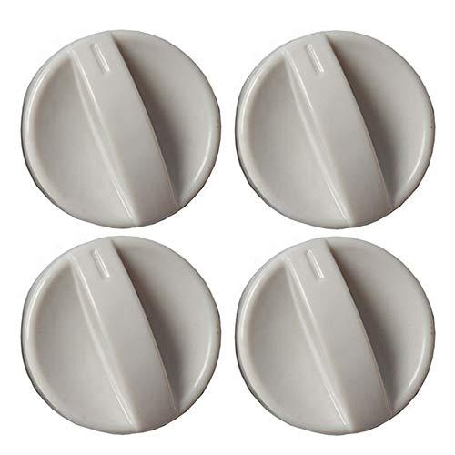 Xinlie Gas Botones Universal de Interruptor Perillas de Control Universales Perillas de Control de Superficie de Cocción Perillas Universales para Estufas de Gas para Hornos y Cocinetas(4 Piezas)