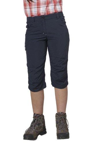 Fifty Five Damen 3/4 Wanderhose Trekkinghose Sporthose Chiara, Blau (Navy 002), 42