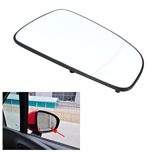 DEWIN Specchietto Retrovisore Esterno Opel Astra - Specchio Esterno DX Opel Astra H Vetro specchietto laterale porta destra auto compatibile con Opel Astra 2004-2016 6428785