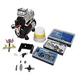 vidaXL Kit de Compresseur d'Aérographe avec 3 Pistolets Compresseur