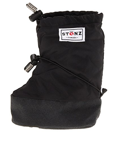 Stonz Baby Booties - Black (Small 0-9mos)