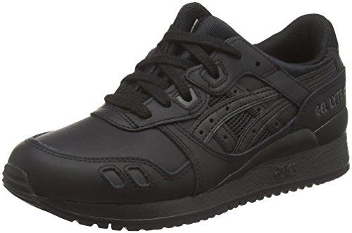 Asics Gel-Lyte III, Zapatillas de Running Unisex para Adulto, Negro (9090), 36 EU