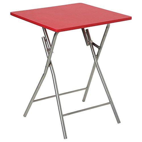 Paris Prix Five Simply Smart - Table Pliante 75cm Basic Rouge