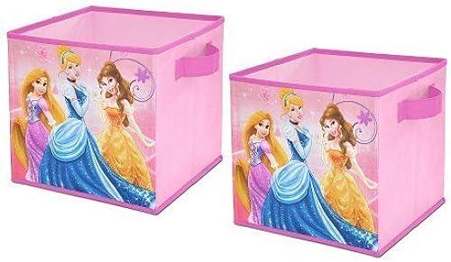 Disney Princess 2-Pack Storage Cubes by Amazing Disney Princess 2-pk. Collapsible Storage Cubes by Unknown