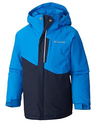 Columbia–Columbia Evo Fly Jacket Marine Blue Print–Chaqueta esquí Junior
