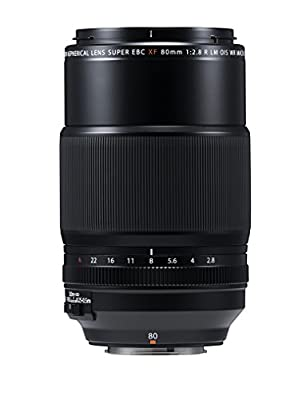 FUJIFILM Lens 80mm XF80MMF2.8 R LM OIS WR(Japan Domestic Genuine Products) from FUJIFILM